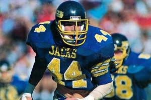 Doug Miller played for South Dakota State in the early 1990s.