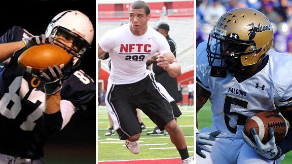 Tashawn Bower, Adam Breneman and Kendall Fuller
