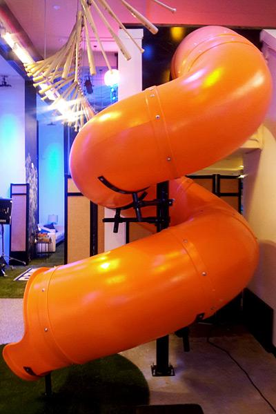 Fan Cave Slide