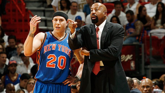 Mike Bibby and Mike Woodson