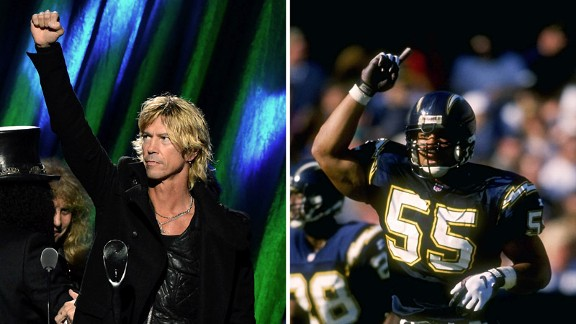 Duff McKagan, Junior Seau