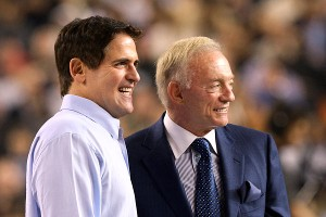 Mark Cuban, Jerry Jones