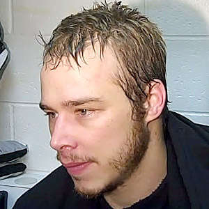 Dustin Brown's playoff beard