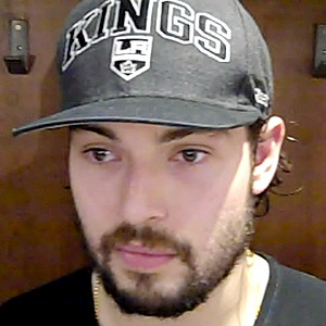Drew Doughty's playoff beard