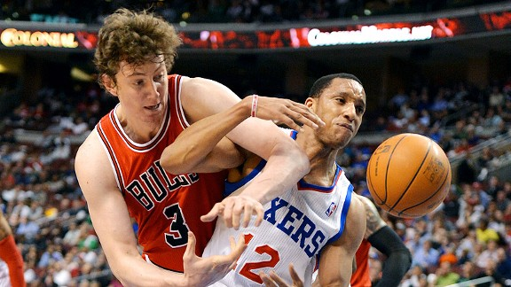 Omer Asik and Evan Turner
