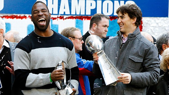 Eli Manning & Justin Tuck