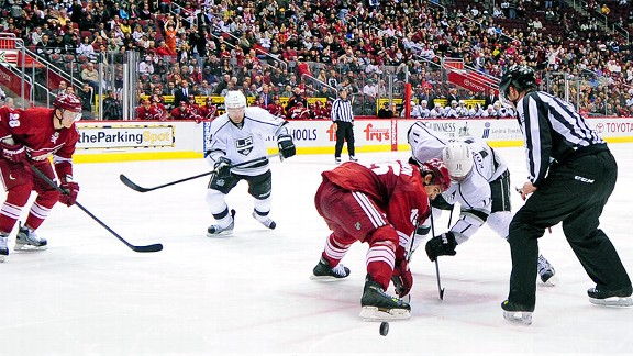 Phoenix Coyotes and Los Angeles Kings