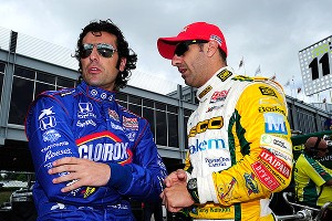 Dario Franchatti and Tony Kanaan