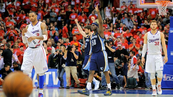 Memphis Grizzlies celebrate