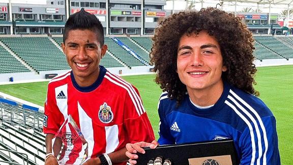 Armando Flores and Jimmy Camacho