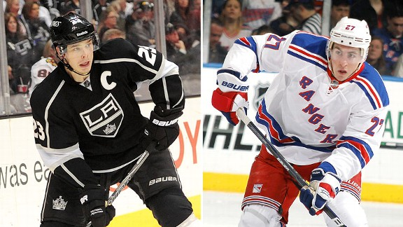 Dustin Brown and Ryan McDonagh