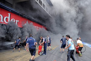 Formula One Fire