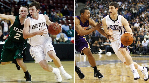 Nick Emery and Jimmer Fredette