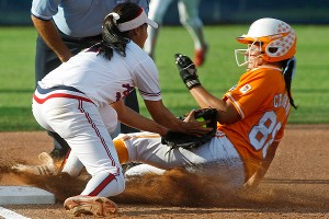 Tennessee's Raven Chavanne is among the finalists for USA Softball's Player of the Year award, despite missing nine games with injuries.