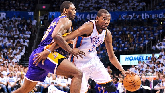 Metta World Peace, Kevin Durant