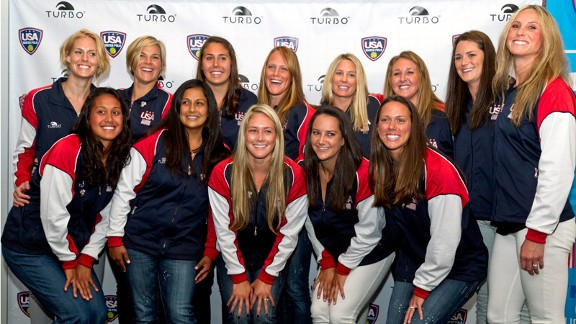 U.S. Olympic women's water polo team
