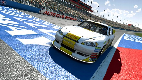 NASCAR video game story.