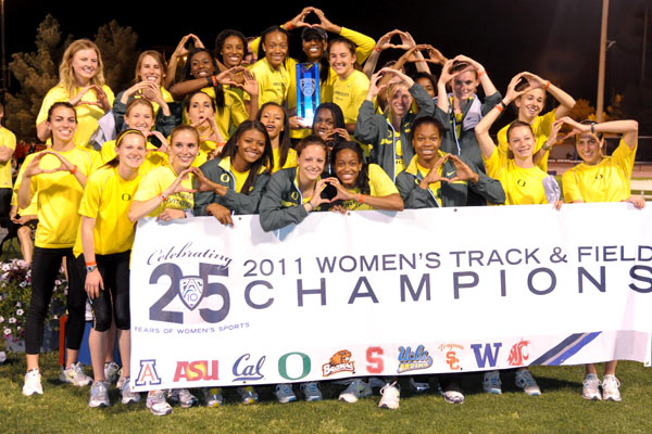 Oregon Women's Track