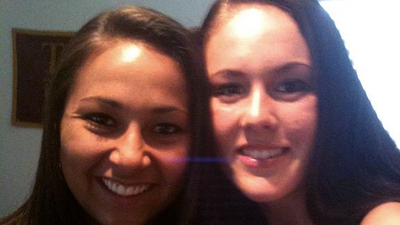 Anna Hernandez and Meagan May