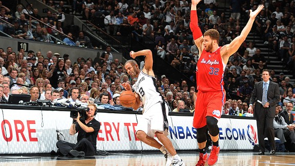 Tony Parker, Blake Griffin