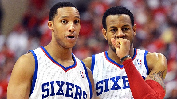 Evan Turner and Andre Iguodala
