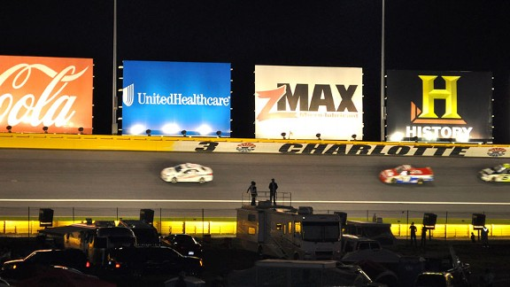 Charlotte Truck race