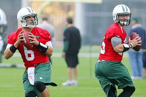 Mark Sanchez and Tim Tebow