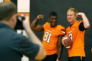 Justin Blackmon, Brandon Weeden