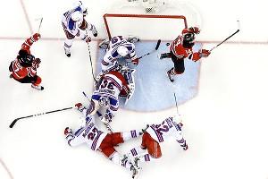 New York Rangers dejection