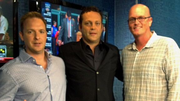 Vince Vaughn with The SVP Show