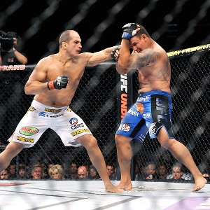 Junior Dos Santos and Frank Mir