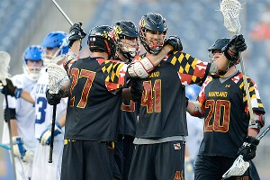 Maryland lacrosse celebration