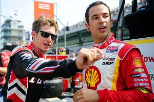 Helio Castroneves, Ryan Briscoe