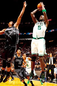 Chris Bosh and Kevin Garnett