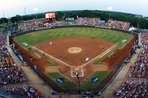 The WCWS has found a friendly home base at the ASA Hall of Fame Stadium and among the locals in Oklahoma City.