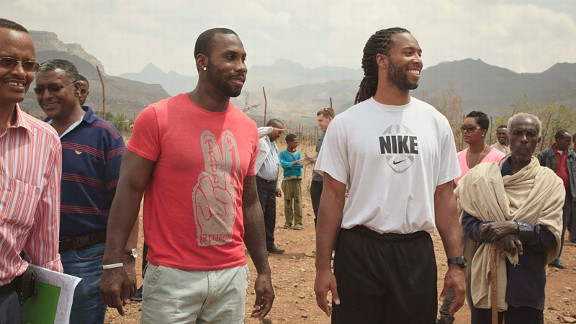 Anquan Boldin and Larry Fitzgerald