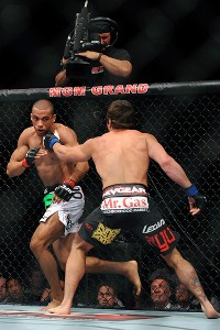 Edson Barboza and Jamie Varner
