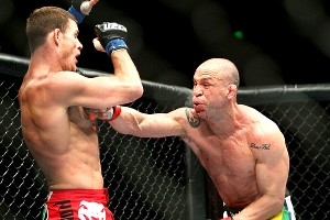 Wanderlei Silva and Michael Bising