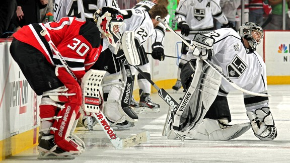 Quick Makes Key Saves As Kings Prevail
