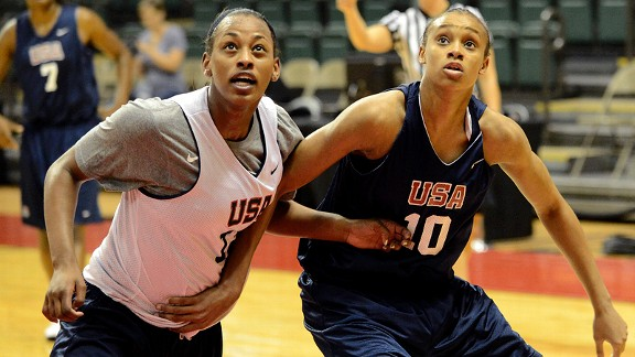 Bashaara Graves and Brianna Turner