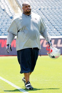 Vince Wilfork of the New England Patriots