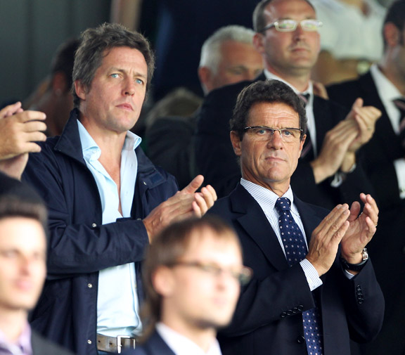 Fabio Capello, Hugh Grant
