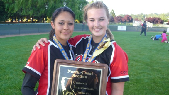 California high school softball, CIF North Coast Section championship