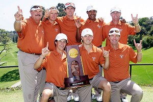 University of Texas men's golf