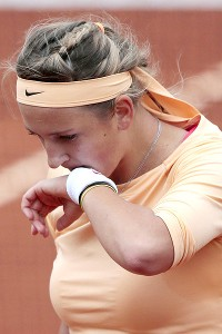 It's clear after watching Victoria Azarenka that she needs an attitude adjustment.
