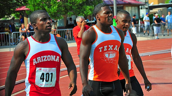 Great Southwest 2012 boys 100