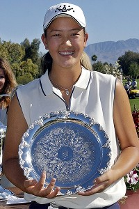 At 13, Wie became the youngest player to make an LPGA cut.