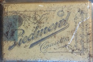 Piedmont tobacco cards