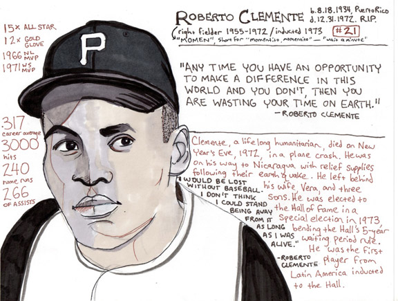 Roberto Clemente artwork