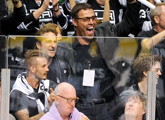 David Beckham & Tony Robbins